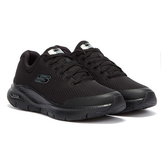 Skechers Arch Fit Mens Black Trainers