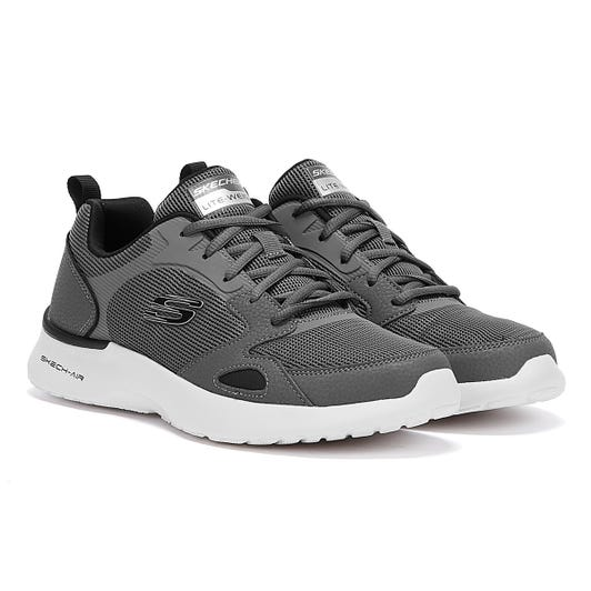 Skechers Skech-Air Dynamight Mens Grey Trainers