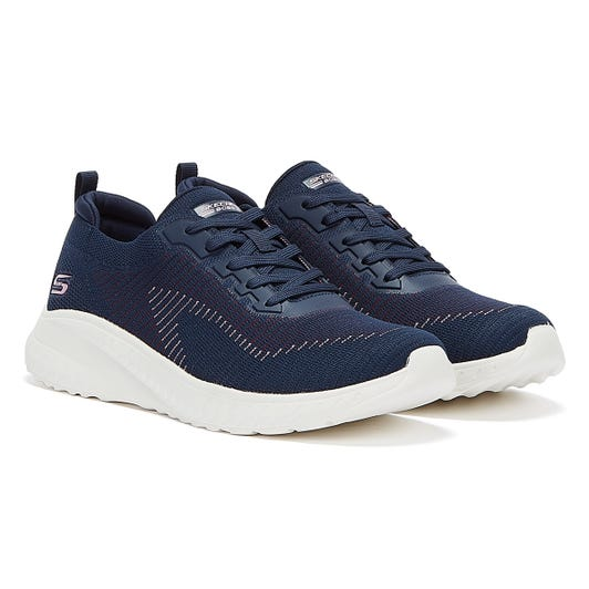 Skechers Bobs Squad Chaos Womens Navy Trainers