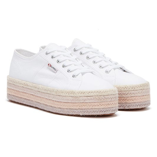 Superga 2790 COTROPE Womens White / Pink Trainers