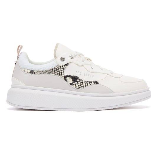 Ted Baker Arellis Womens White Trainers