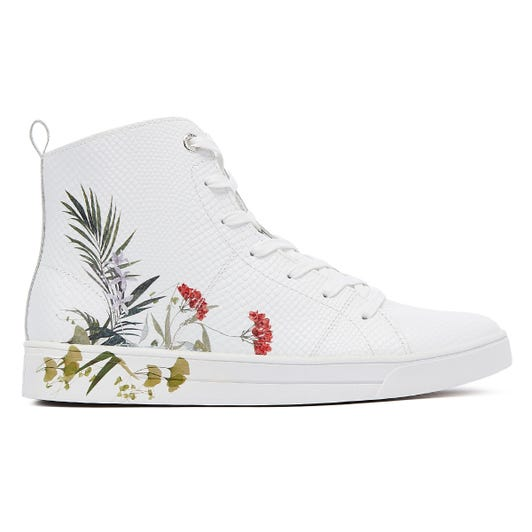 Ted Baker Zerel Womens White Trainers