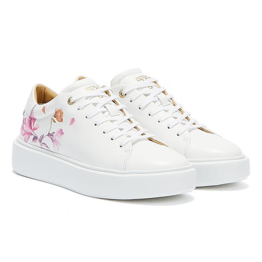 Ted Baker Piixier Womens White Trainers