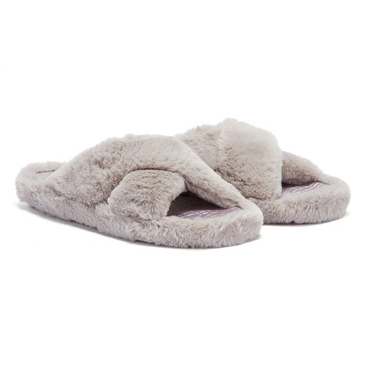 Ted Baker Cameo Womens Light Grey Slippers