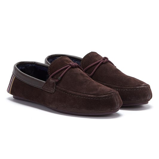 Ted Baker Seffel Mens Dark Brown Slippers