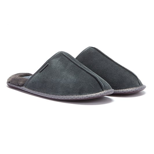 Ted Baker Darax Mens Grey Slippers