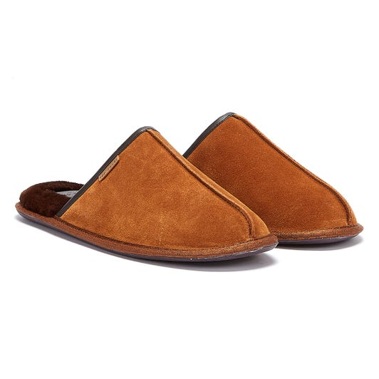 Ted Baker Darax Mens Brown Slippers