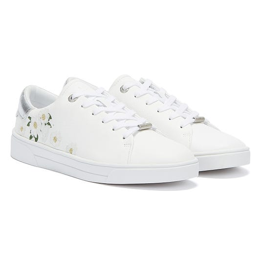 Ted Baker Adia Womens White Trainers