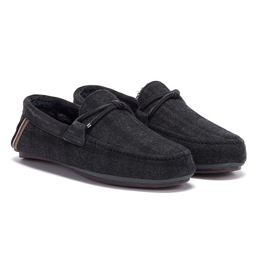 Ted Baker Merinol Mens Grey Slippers