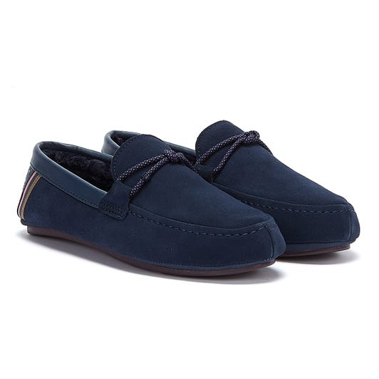 Ted Baker Seffel Mens Navy Slippers