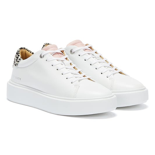 Ted Baker Piixiee Womens White Trainers