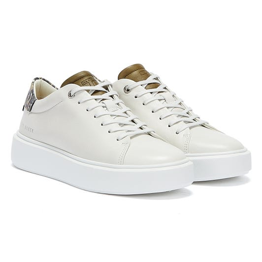 Ted Baker Piixin Womens White Trainers