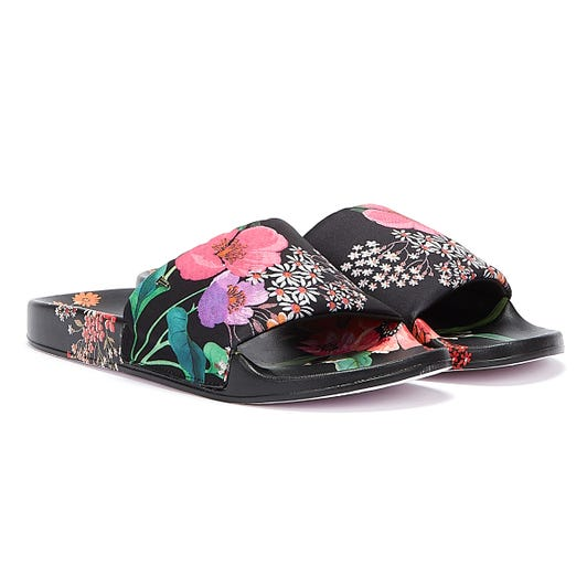 Ted Baker Ashlin Womens Black Slides