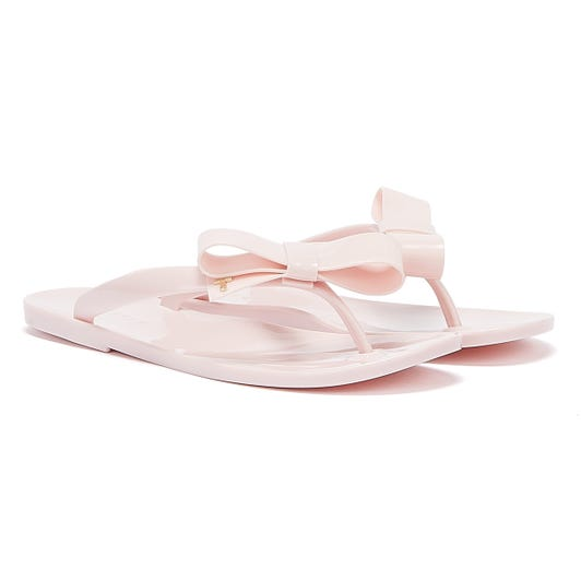 Ted Baker Bejouw Womens Light Pink Flip Flops
