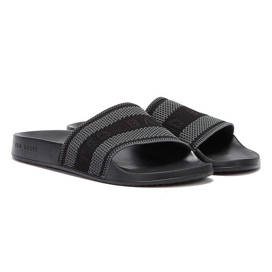 Ted Baker Danoup Mens Black Slides