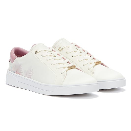 Ted Baker Delylas Womens White Trainers