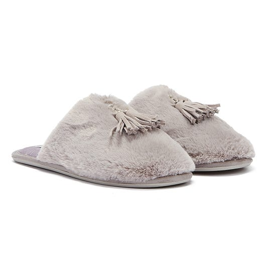 Ted Baker Breta Womens Light Grey Slippers