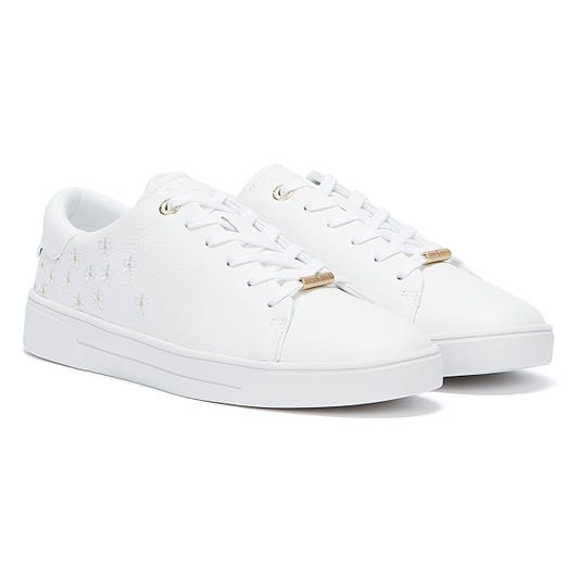 Ted Baker Adial Womens White Trainers