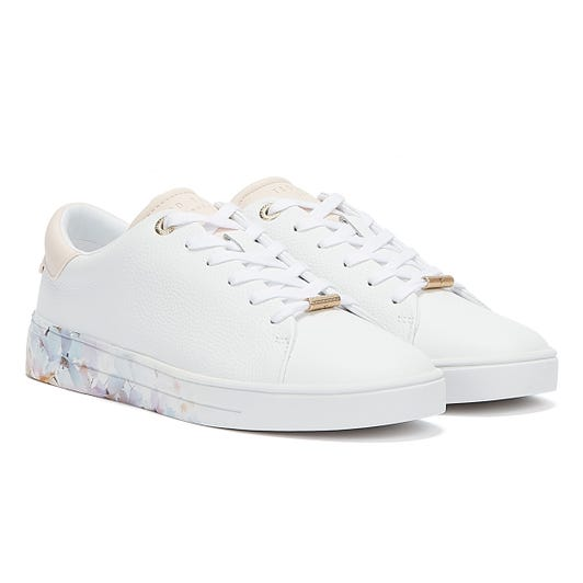 Ted Baker Sanzap Womens White Trainers