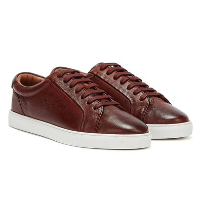 Ted Baker Udamo Mens Light Brown Trainers