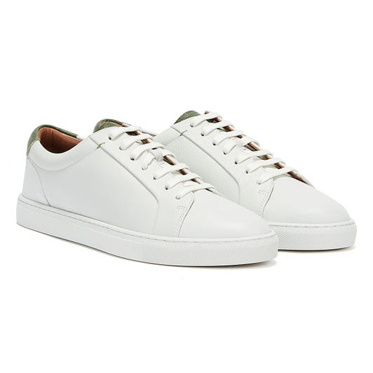 Ted Baker Udamo Mens White Trainers