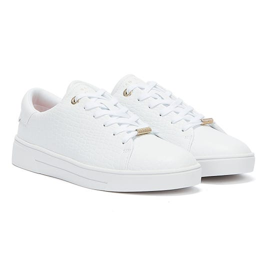 Ted Baker Zennco Womens White Trainers