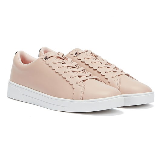 Ted Baker Tillys Womens Nude Pink Trainers