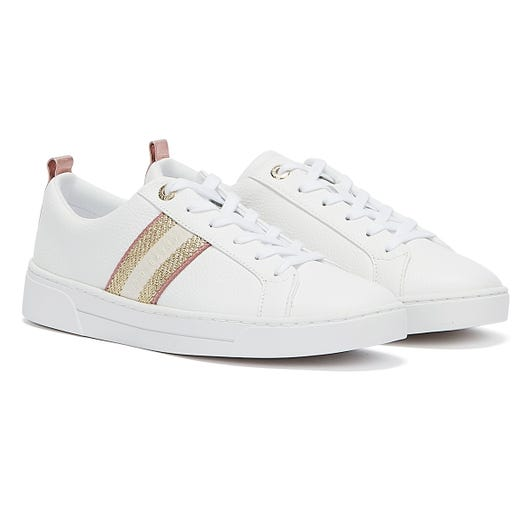 Ted Baker Baily Womens White Trainers