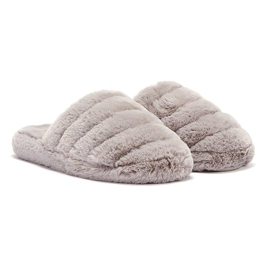 Ted Baker Lopsey Womens Light Grey Slippers