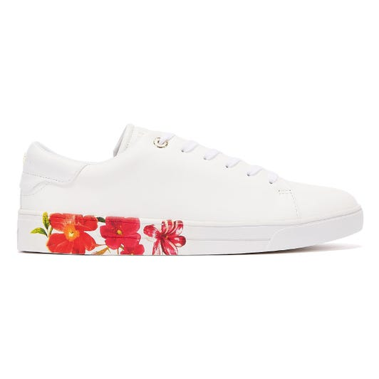Ted Baker Circee Womens Ivory Trainers