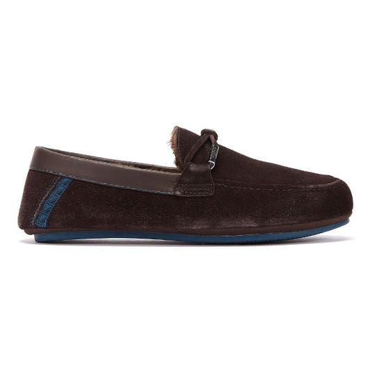 Ted Baker Valcent Mens Brown Slippers
