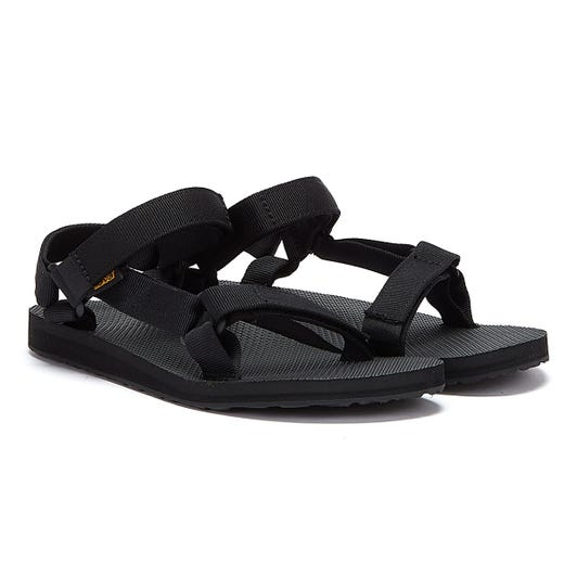 Teva Womens Black Original Universal Sandals