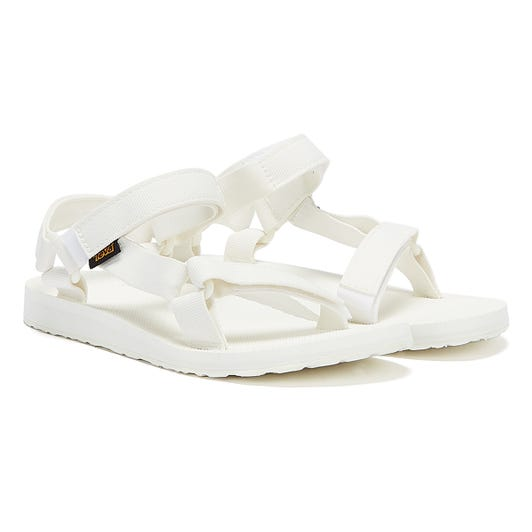 Teva Womens Bright White Original Universal Sandals