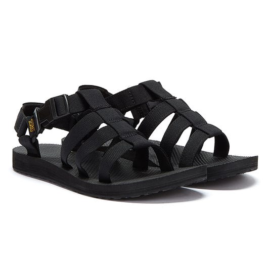 Teva Original Dorado Womens Black Sandals