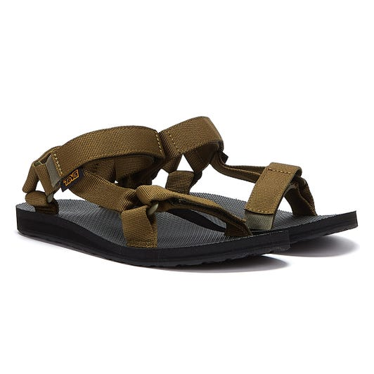 Teva Original Universal Mens Dark Olive Sandals