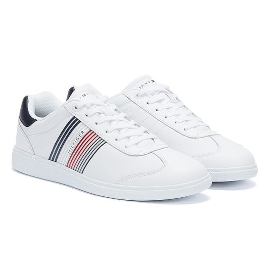Tommy Hilfiger Essential Corporate Cupsole Mens White Trainers