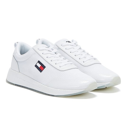 Tommy Jeans Flexi Runner Womens White Trainers