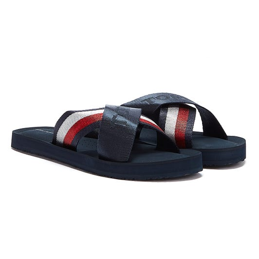 Tommy Hilfiger Tommy Strap Womens Navy Sandals