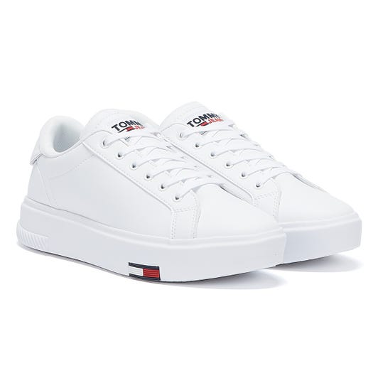 Tommy Jeans Fashion Cupsole Womens White Trainers