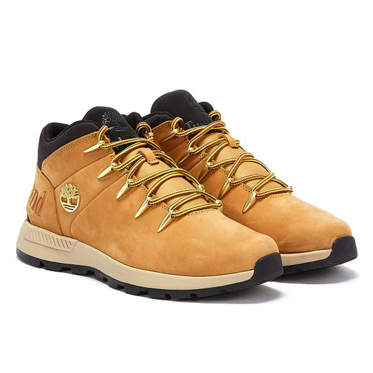 Timberland Euro Sprint Trekker Mens Wheat Yellow Boots