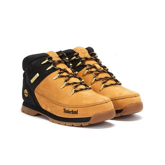 Timberland Euro Sprint Hiker Junior Yellow / Black Boots