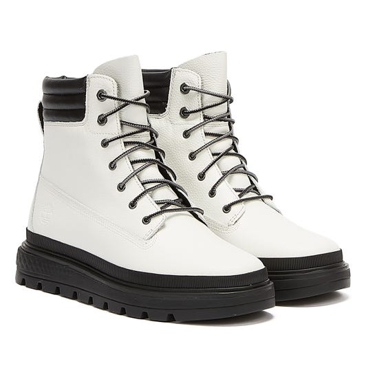 Timberland Ray City 6Inch Womens White Boots