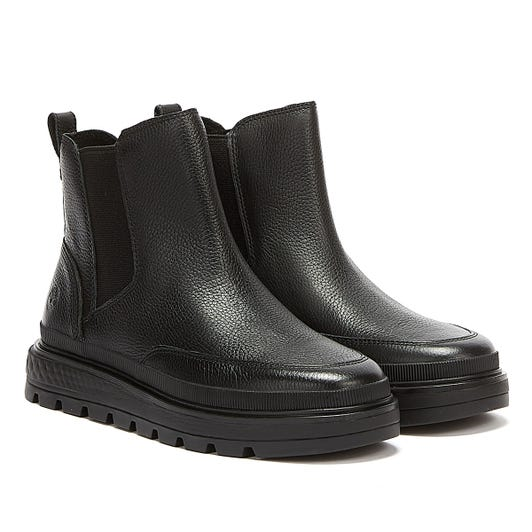 Timberland Ray City Chelsea Womens Black Boots