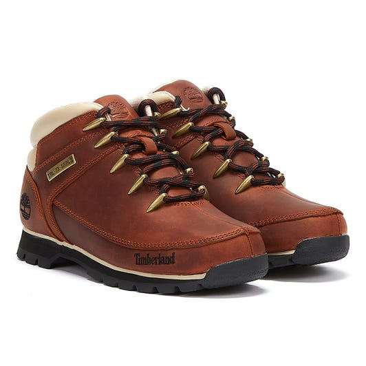 Timberland Euro Sprint Hiker Mid Mens Brown Boots