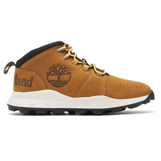 Timberland Brooklyn City Mid Mens Light Brown Trainers