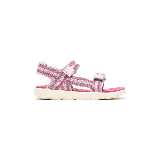 Timberland Perkins Row Webbing 2-Strap Toddlers Pink Sandals