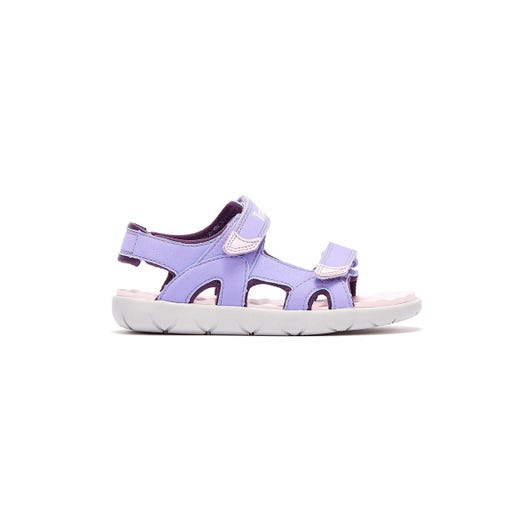 Timberland Perkins Row 2-Strap Toddlers Light Purple Sandals