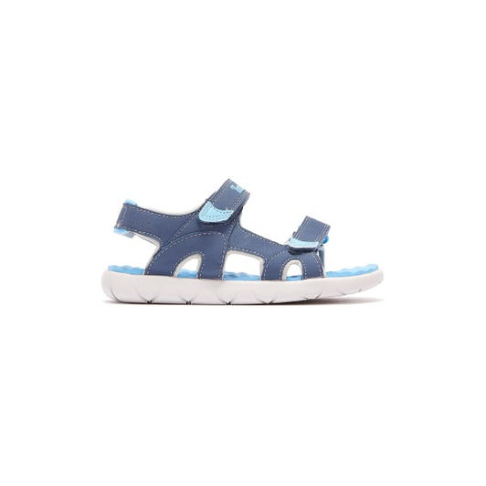 Timberland Perkins Row 2-Strap Toddlers Blue Sandals