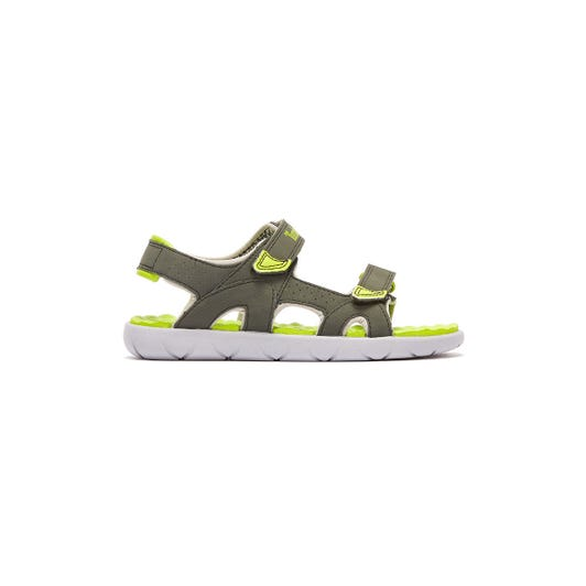 Timberland Perkins Row 2-Strap Toddlers Grey / Green Sandals