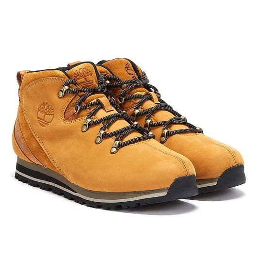 Timberland Splitrock 3 Mid Hiker Mens Wheat Yellow Boots